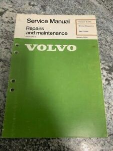 1989 Volvo 240 Wiring Diagrams Electrical Factory Shop ...
