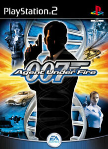 🔥007 AGENT UNDER FIRE🔥PLAYSTATION PS2 GAME CLEANED/TESTED🔥GREATEST HITS
