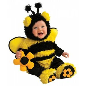 Image is loading Baby-Bumble-Bee-Costume-Halloween-Fancy-Dress  sc 1 st  eBay & Baby Bumble Bee Costume Halloween Fancy Dress | eBay
