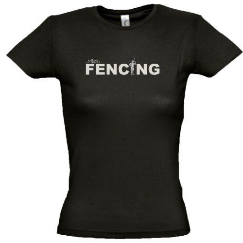 ARTOS Fencing Women T-Shirt Damen Sport Tee Shirt Fecht Weltmeisterschaft 2017