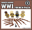 Battlefield Military Army NEW BrickArms WWI TRENCH PACK for  Minifigures