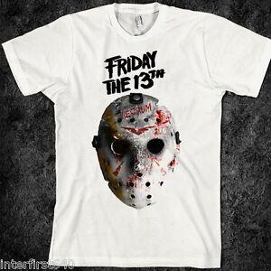 Horror-T-Shirt-Freddy-Krueger-Nightmare-on-Elm-street-Halloween-Friday-13th