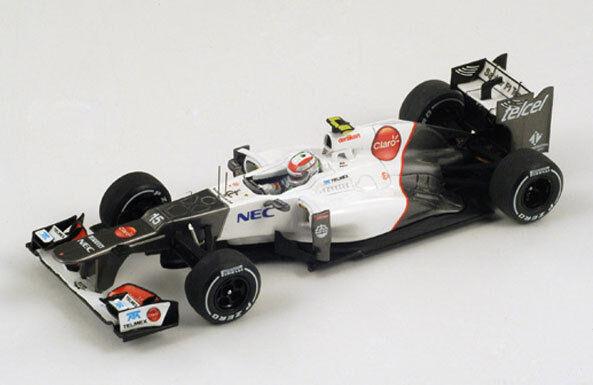 SPARK Sauber C31 No.15 2nd GP della Sergio Malesia 2012 Sergio della Perez S3033 1 43 4caaaf