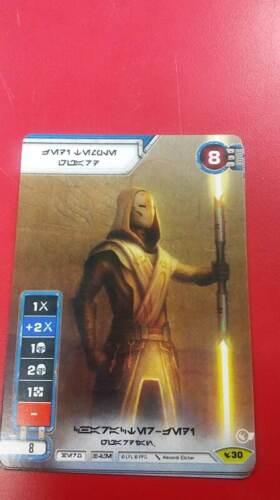 Star Wars Destiny Legacies Jedi Temple Guard #30 Rare Promo Full Art
