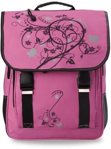 Rucksack Markentasche Bag Street geräumige Schultasche rosa-schwarz Mädchen