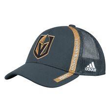 adidas Vegas Golden Knights Gray Charlie Adjustable Snapback Hat  54125e44d738