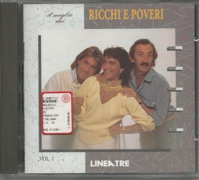 RICCHI E POVERI  - Il meglio dei - CD RARO MINT COND