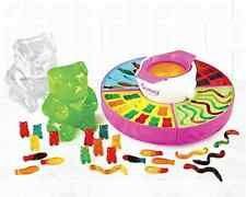 Electric Giant Gummy Candy Maker Home Made Silicone Molds Kids Desserts Candies