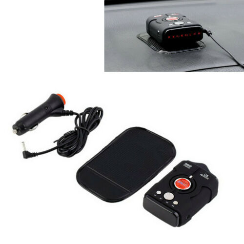 LED Display Car Radar Detector V8 360° Bilingual Voice Warning Laser Alarm Tools