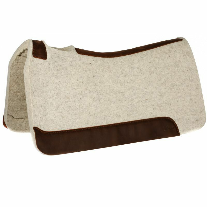 5 STAR EQUINE PRODUCTS  THE ROPER   32 x 30 PREMIUM WESTERN SADDLE PAD  presenting all the latest high street fashion
