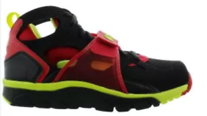 Nike Air trainer HUARACHE Black volt red 679083-020 men training size 8-13