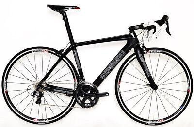 STRADALLI PRO SPORT CARBON FIBER ROAD BIKE ULTEGRA 8000 SHIMANO BICYCLE FSA