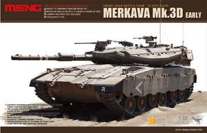 Meng Models Kit de réservoir pour début de réservoir Merkava Mk.3d au 1/35