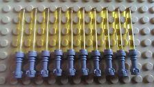 Lego Star Wars Armes Minifig ★ 10 sabres lasers jaunes NEUFS ★ JAUNE