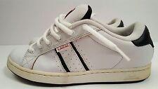 Lakai S/Replay SP, Men's Vintage Skater Shoes, Size 10, White, Black, Used, Worn
