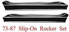 73 87 Slip-On Rocker Panel Set Chevy & GMC Truck Blazer Suburban L&R Both Sides!