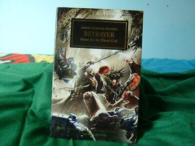 Romantico Games Workshop. Nero Libreria, L'eresia Di Horus N. 24, Traditore, Usato.-mostra Il Titolo Originale
