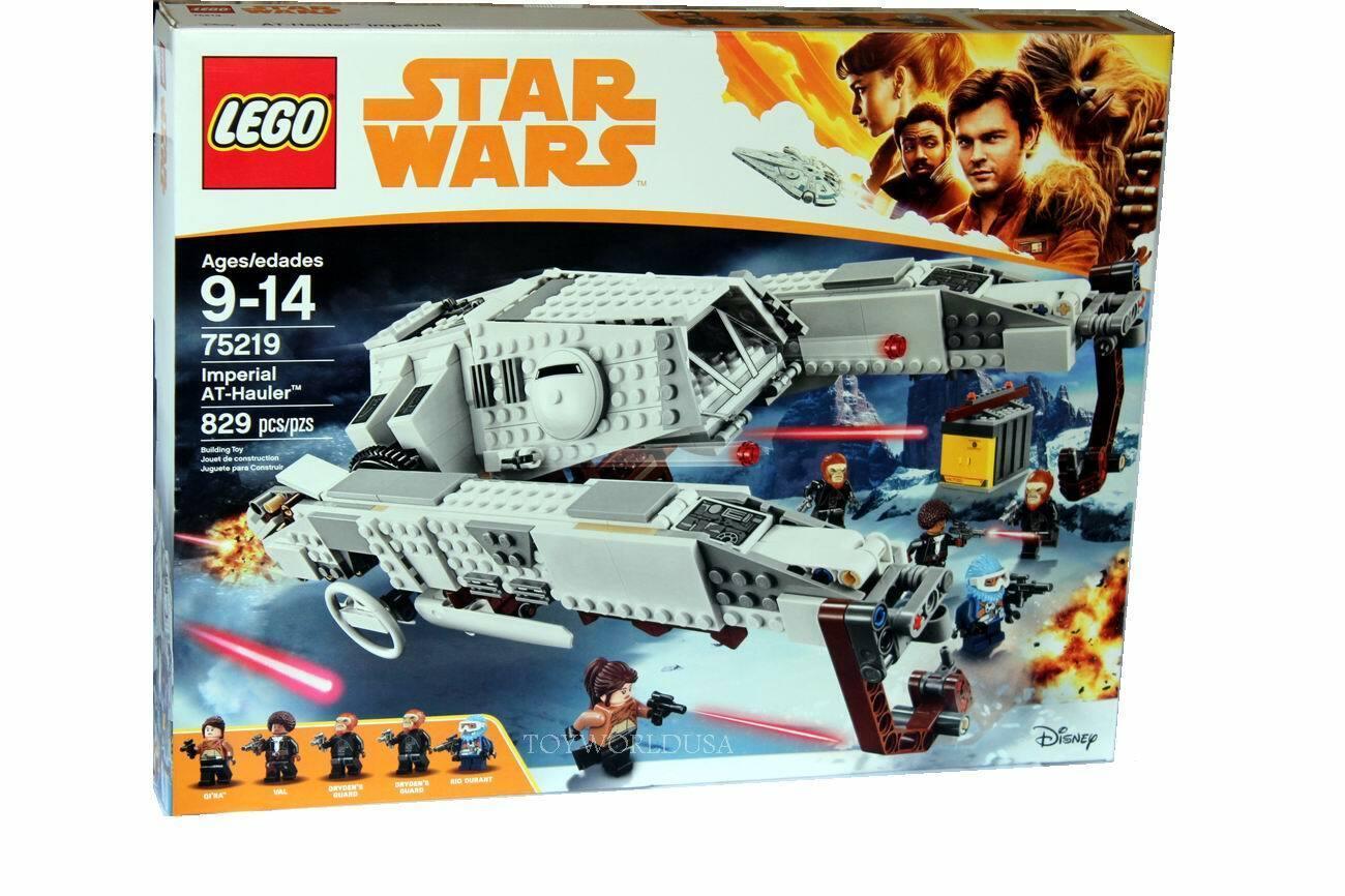 LEGO stjärna VARNING Imperial AT-Hauler Building Set