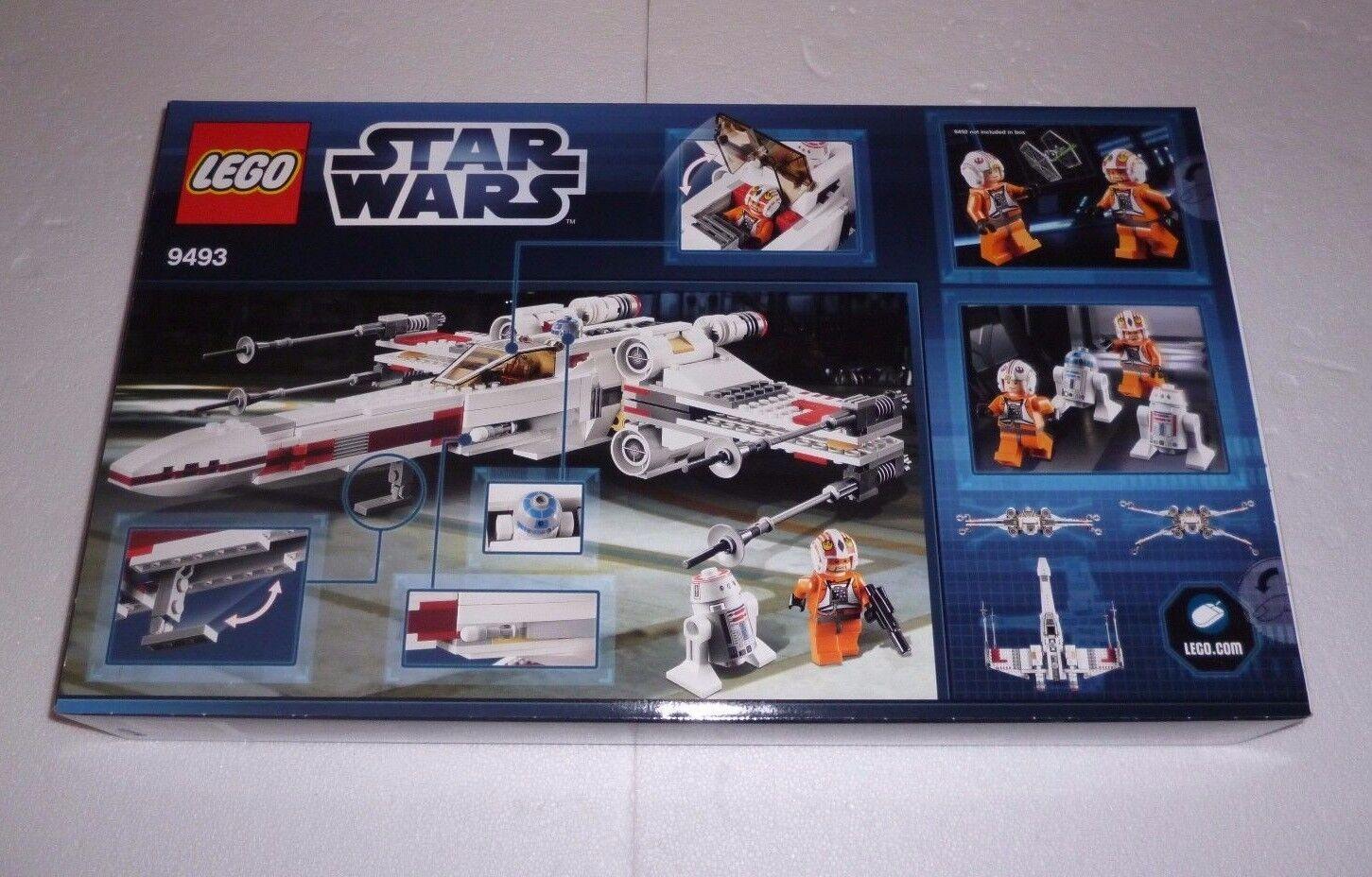 Lego Star Wars X-Wing Starfighter (9493) NEUF/NEW NEUF NEUF NEUF dans sa boîte | Matière Choisie  65c02e