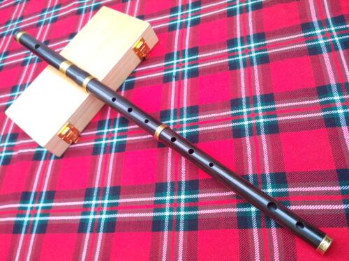 Hartschale//Irische Professionell Irische D Flute Afrikanische Schwarz Holz