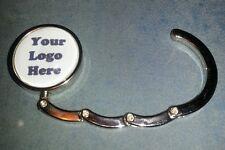 Personalized Purse Hook Your Logo Image Picture Custom Folding Handbag Hanger