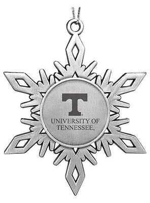 University of Tennessee Vols ENGRAVED SNOWFLAKE CHRISTMAS ORNAMENT UT Volunteers