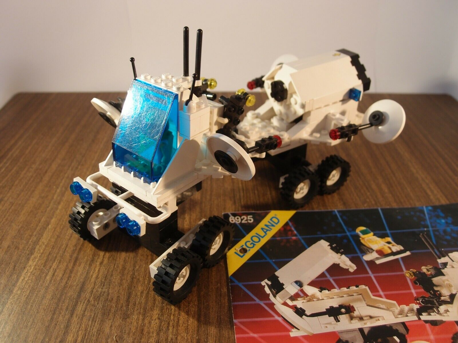 1988 Lego Group Vintage Lego 6925 espacio  futuron  interplanetario Rover