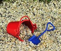 Miniature Fairy Garden Metal Sand Pail & Shovel Set - Buy 3 Save $5