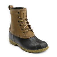 G.H. Bass & Co. Men's Dixon Genuine Leather Lace-up Duck Boot