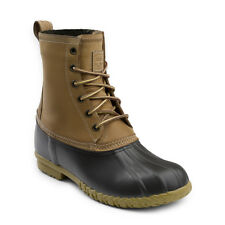 'Men's Waterproof Leather G.H. Bass & Co. Duck Boot' from the web at 'https://i.ebayimg.com/images/g/9BwAAOSwK~RZ8m7i/s-l225.jpg'