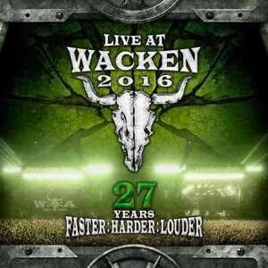 Live At Wacken 2016 - 27 Anni - Nuovo DVD