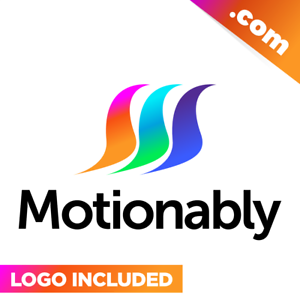 Motionably-com-is-a-cool-brandable-domain-for-sale-Godaddy-PREMIUM-LOGO