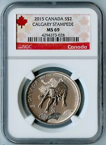 2015-CANADA-NGC-MS69-SILVER-CALGARY-STAMPEDE-S-2-AWESOME-COIN