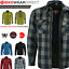 miniature 34 - Motorbike Motorcycle Shirt Jacket Aramid Lined Protection With CE Biker Armour