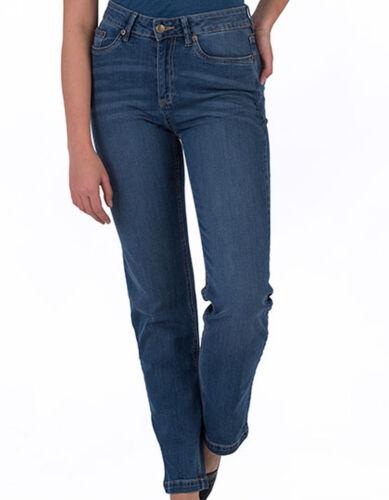NUOVO sodenim donna Jean Pantaloni Katy Skinny Jeans Stretch Denim 5 Pocket Straight