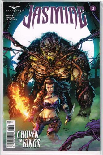 Grimm Fairy Tales Presents Jasmine Crown of Kings #3 Cover B NM 2018 Zenescope