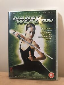 Maggie Q Naked Weapon PETA & Mix   DVDbash