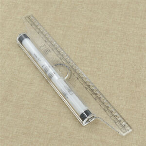 30cm-Professional-Rolling-Parallel-Ruler-Patchwork-Tool-Drawing-Glider-Sewing-1x