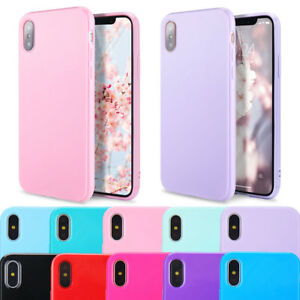 For-iPhone-XS-Max-XR-X-7-8-Plus-Case-Silm-Soft-Cute-Silicone-Rubber-TPU-Cover