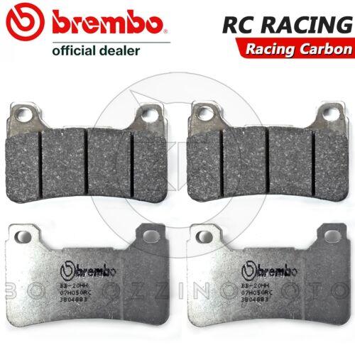 4 PASTIGLIE FRENO ANTERIORI BREMBO 07HO50RC HONDA CBR 1000 RR FIREBLADE ABS 2011