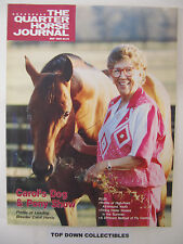 The Quarter Horse Journal   May 1993   Carol Harris, Dog and Pony Show