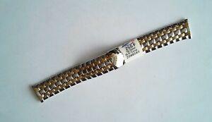 Vintage-Armband-Von-Armbanduhr-ZRC-Fussmatte-Zweifarbig-Stahl
