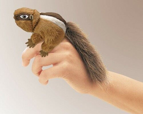 CHIPMUNK Finger Puppet # 2637 ~FREE SHIPPING//USA ~ Folkmanis Puppets