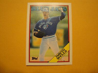 1988 Donruss #640 /& 1988 Topps Traded #128T David Wells Rookie Card Lot