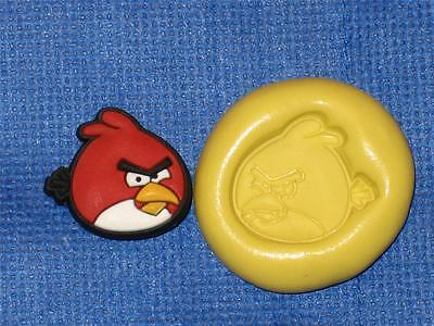 Matilda Angry Birds Silicone Push Mold 817 Cake Chocolate Resin Clay Candy