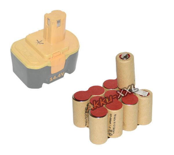 Bateria para ryobi 14,4v 2.0ah bpp1417 NiMH bpp incluso instalación bpp1417 2.0ah 177150