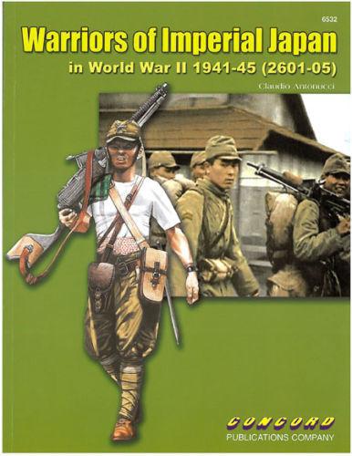 SOLDATEN DER JAPANISCHEN ARMEE 41-45 NEU* Concord 6532