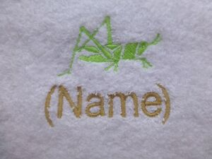 DISNEY SILHOUETTE and Name Embroidered on Towels Bath Robes Hooded Towel