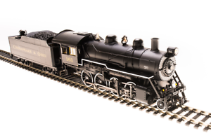 Locomotora de vapor Ho - - - Chesapeake & Ohio RR 2 - 8 - 0 con sonido, humo y DC   DCC, suministrada por Broadway Ltd. 58f