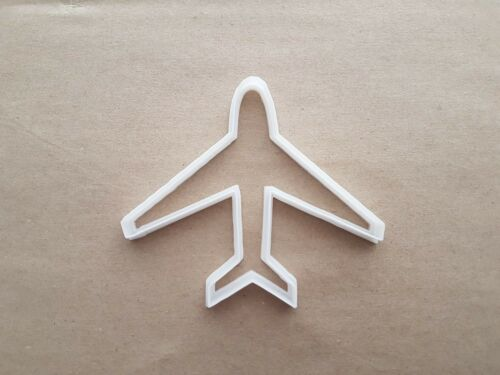Plane Air Aero Jet  Shape Cookie Cutter Dough Biscuit Pastry Fondant Sharp